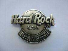 HRC HARD ROCK CAFE CHICAGO SHANGHAI SIGN HEAVY METAL MUSIC RARE PIN BADGE 99p