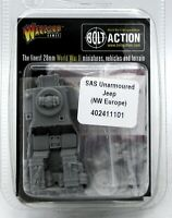 Bolt Action 402411101 SAS Unarmored Jeep (NW Europe) WWII British Special Forces