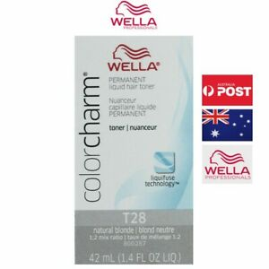 Wella Color charm T28 Natural Blonde Permanent Hair Toner
