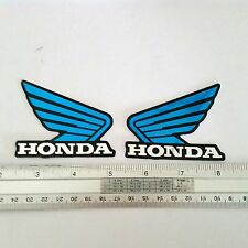 HONDA WINGS PLATE RESIN EMBLEM DOMED 3D CAR BADGE STICKER FREE SHIPPING #3