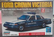 Ford Crown Victoria Georgia State Patrol Car 1/25 Scale Plastic Kit
