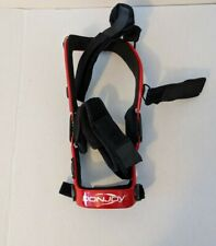 Donjoy Defiance ACL MCL PCL Red Knee Brace - LEFT SMALL/MEDIUM