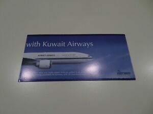 Kuwait Airways Promotional Brochure c.1990s =