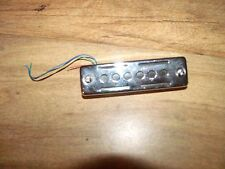Original Vintage Kawai Teisco etc Japan Black Foil Bridge Pickup 5.29k