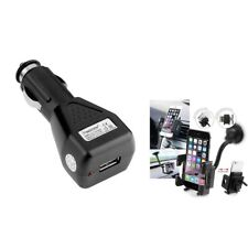 CAR CHARGER+WINDSHIELD HOLDER MOUNT For iPod Touch 2 3 4 2G 3G 4G 3rd 4th Gen