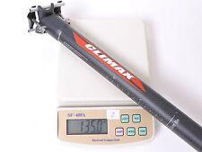 mr-ride 140g,31.6x350mm Climax SP02C 3K MATT carbon Seatpost Road MTB bike Black