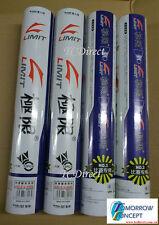 2 Dozen LIMIT No. 3 Badminton Shuttlecocks Feather