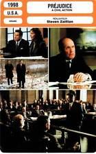 FICHE CINEMA : PREJUDICE - Travolta,Duvall,Lithgow,Zaillian 1998 A Civil Action