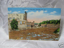 Logs at Paper Mill Appleton Wi  Old Postcard