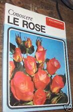 CONOSCERE LE ROSE I DOCUMENTARI n. 2 1967 ROSA De Agostini L18