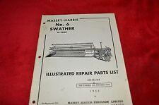 Massey Ferguson No. 6 Swather Dealer's Parts Book Hmpa