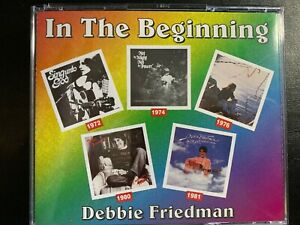 In the Beginning [Box] by Debbie Friedman (CD, Jun-1998, 3 Discs, Sounds Write)