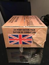 British Army 24 hour Ration Pack limited Menus Available READ Full Listing!