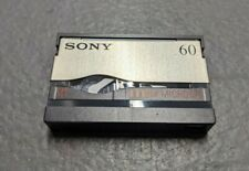 MicroMv Tape, Sony, Blank, Used, 60 minute, for Dcr-Ip Camcorders