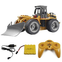1/18 2.4G 6CH High Speed Alloy Snow Sweeper Truck Remote Control RC Car #D