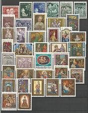 Österreich Weihnachtsmarken 1948 - 2001 komplett **