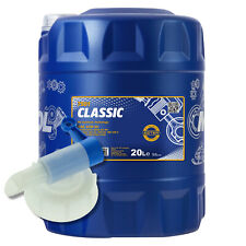 20 (1x20) Liter MANNOL 10W-40 Classic Motoröl für VW, AUDI mit Auslaufhahn