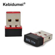✓ MINI CLÉ USB DONGLE WIFI 802.11 B/G/N 150 MBPS ADAPTATEUR ORDINATEUR PC / MAC