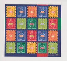 NVPH Nederland V 1740-1745 blok sheet MNH PF Decemberzegels 1997 Netherlands