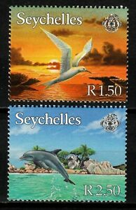 Seychelles stamps 1999 MLH Birds Dolphins