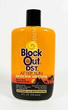 Block Out Dst After Sun Mocha Lotion Darker Skin 8oz Black Rock Egyptian Musk