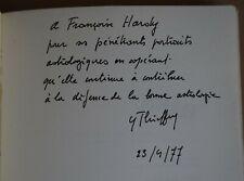 L'Astrologie dans la société contemporaine. Y. Thieffry avec dédicace a F. Hardy