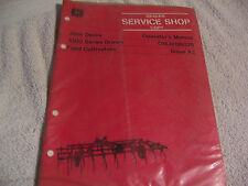 11838 John Deere Operators Manual 1000 Series Drawn Field Cultivators