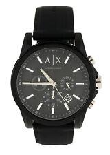 AX Armani Exchange Herren Armbanduhr AX1326 Schwarz Silikon Armband