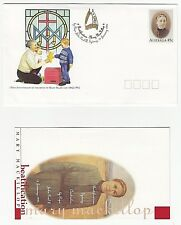 1995 IMPRINTED BEATIFICATION OF MARY MACKILLOP PRE STAMPED ENVELOPE & INSERT
