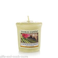 Yankee Candle Duftkerze Votivkerze Sampler 49g  Lemongrass & Ginger
