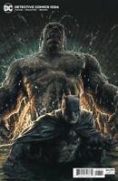 Detective Comics #1026 Lee Bermejo Variant Cover DC Comics 2020