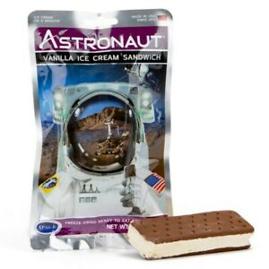 Astronaut Space Food - Vanilla Ice Cream Sandwich  - Freeze Dried Astro Food ISS