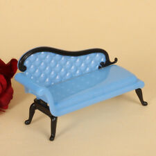 Mini Dollhouse Furniture Plastic Chaise Lounge for Ken Doll Sofa Toy