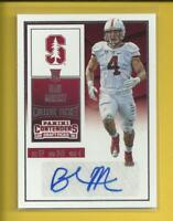 Blake Martinez AUTO RC  2016 Contenders Draft Rookie Auto Card #247  Packers