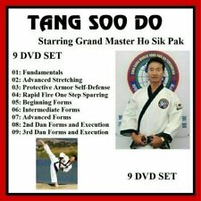 TANG SOO DO 9 DVD Set with HO SIK PAK like tae kwon do TKD  panther productions