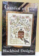 GARDEN OF LIFE ~~ Blackbird Designs Loose Feathers #21, OOP