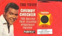 Checker, Chubby - The Twist/Twistin' U.S.A. Vinyl 45 rpm Record Free Shipping