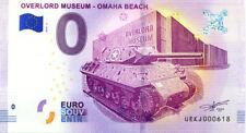 14 COLLEVILLE Overlord Muséum 2, 2018, Billet 0 € Souvenir