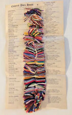 Vintage Yarn Chart Colonial Yarn House