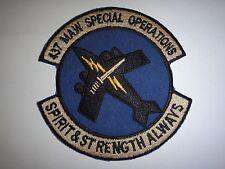 "Korea War Patch USAF 437th MAW Special Operations ""SPIRIT & STRENGTH ALWAYS"""