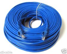 200FT 200 FT RJ45 CAT5 CAT 5 HIGH SPEED ETHERNET LAN NETWORK BLUE PATCH CABLE