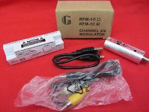 USB POWERED RCA COMPOSITE VIDEO/AUDIO MINI RF MODULATOR TO CHANNEL 3 OR 4 RFM-1C