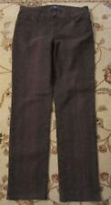NYDJ NOT YOUR DAUGHTERS LIFT TUCK JEANS SKINNY SIZE 2 BROWN ANIMAL PRINT