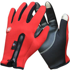 Outdoor WinterThermal Sports Bike Gloves Windproof Warm for Touch Screen(M Size)