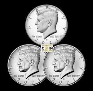 2021 S,P,D Kennedy Half Dollars Update Set S Proof, P,D Uncirculated