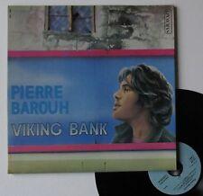 "Vinyle 33T Pierre Barouh  ""Viking bank"""