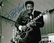 BB King Autographed Signed 8x10 Photo REPRINT