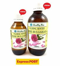 ROSE BULGARIAN FLORAL WATER ~ 100% NATURAL Hydrosol TONER ~ Premium Rosewater