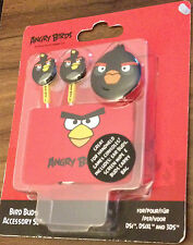 Angry Birds Buds Accessory Set New