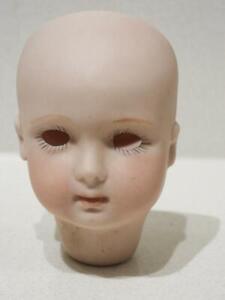 Vintage German Bisque Small Dolls Head - Unmarked